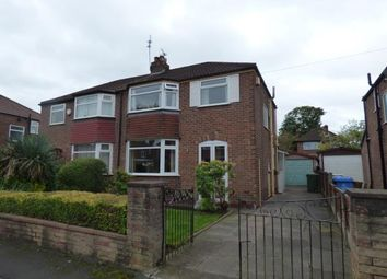 Thumbnail 3 bed semi-detached house for sale in Newlyn Drive, Sale, Manchester