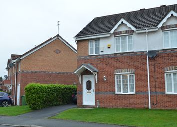 Thumbnail 3 bed semi-detached house for sale in Lees Park Avenue, Manchester