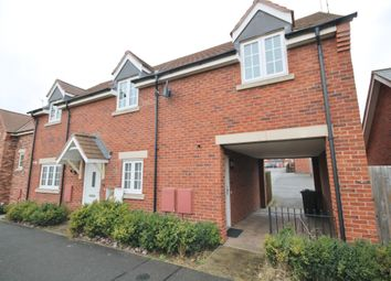Thumbnail 2 bed flat for sale in Bridge Green, Birstall, Leicester