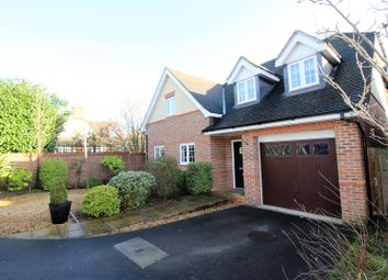 Thumbnail 4 bed detached house for sale in Little Woodcote Close, Caversham, Reading