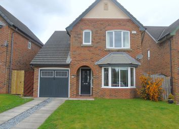 Thumbnail 3 bed detached house for sale in Kirkharle Drive, Pegswood, Morpeth