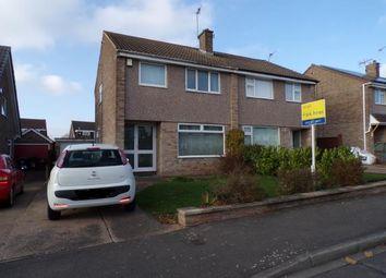 Thumbnail 3 bed semi-detached house for sale in Davidson Close, Arnold, Nottingham, Nottinghamshire