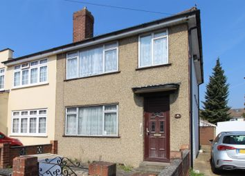 Thumbnail 3 bed end terrace house to rent in Woodcote Avenue, Elm Park, Hornchurch