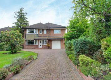 Thumbnail 4 bed detached house for sale in Brooklands Road, Sale