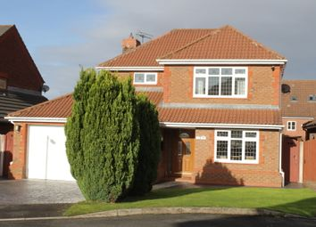 Thumbnail 4 bed detached house for sale in Dryden Close, Ewloe, Deeside