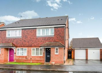 Thumbnail 3 bed semi-detached house for sale in Wrens Croft, Heath Hayes, Cannock, Staffordshire
