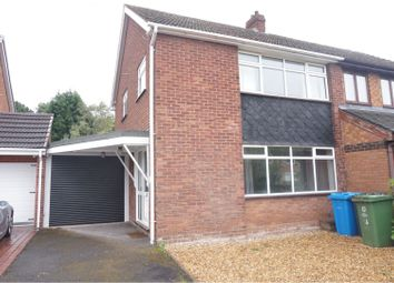 Thumbnail 3 bed semi-detached house to rent in The Leas, Wolverhampton