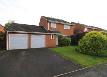 Thumbnail 4 bed detached house for sale in Pantulf Road, Wem, Shrewsbury