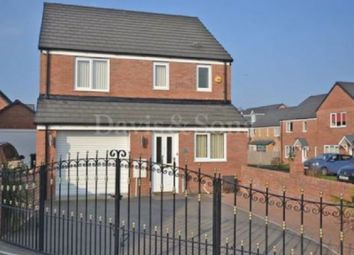 Thumbnail 3 bed detached house for sale in Cefn Adda Close, Newport, Gwent.