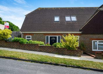 Thumbnail 3 bed semi-detached house for sale in Meadow Close, Rottingdean, Brighton