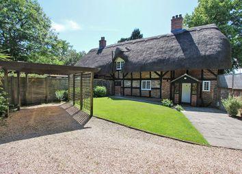 Ash Cottages, Lymington Road, Brockenhurst, Hampshire SO42. 2 bed semi-detached house for sale