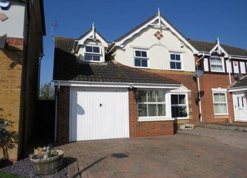 Thumbnail 3 bed detached house for sale in Peckover Close, Park Farm, Peterborough