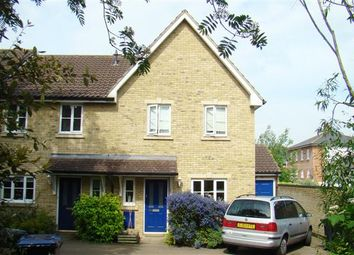 Thumbnail 3 bed end terrace house to rent in Chestnut Close, Chartham, Canterbury