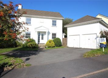 Thumbnail 4 bed detached house to rent in Lower Cross Road, Bickington, Barnstaple