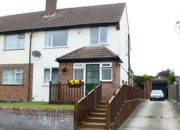 Thumbnail 3 bed end terrace house to rent in Wych Elm Close, Hornchurch