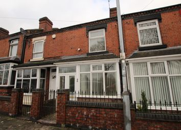 Thumbnail 3 bed terraced house to rent in Park Road, Stoke-On-Trent