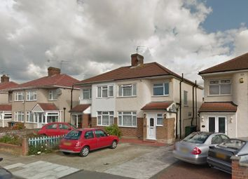 Thumbnail 1 bed flat to rent in Holyrood Avenue, Harrow