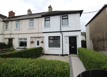 Thumbnail 3 bed terraced house to rent in Hazelbrook Avenue, Bangor