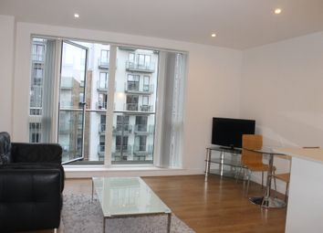Thumbnail 1 bed flat to rent in Caspian Wharf, London