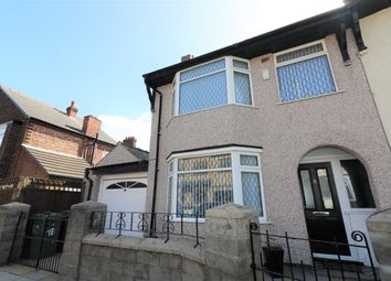 Thumbnail 3 bed end terrace house for sale in Ingleby Road, Wallasey