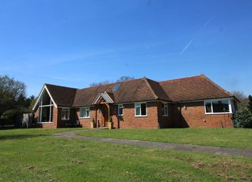 Thumbnail 4 bedroom detached bungalow for sale in Stroude Road, Egham