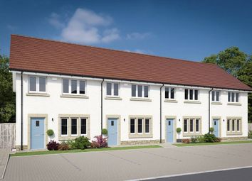 """Thumbnail 3 bed terraced house for sale in """"The Allan"""" at Willow Park Drive, Penicuik"""