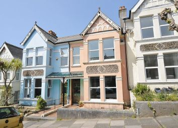 Thumbnail 3 bedroom terraced house for sale in Edgcumbe Park Road, Plymouth