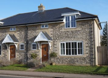 Thumbnail 3 bedroom semi-detached house for sale in The Street, Icklingham, Bury St. Edmunds
