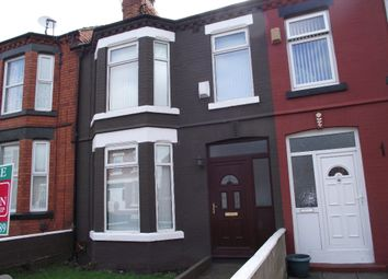 3 bed terraced house to rent in Raffles Road, Tranmere, Wirral CH42