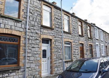 Thumbnail 3 bed terraced house for sale in Cheltenham Terrace, Bridgend