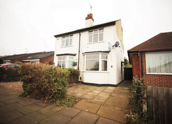 Thumbnail 2 bed semi-detached house for sale in Radiant Road, Leicester
