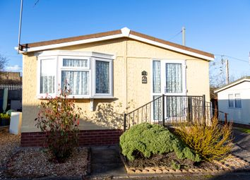 Thumbnail 2 bed mobile/park home for sale in Stationfields, Tamworth