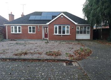 Thumbnail 4 bed detached bungalow for sale in Armitage Close, Holbeach, Spalding, Lincs
