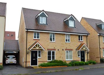 Thumbnail 3 bed semi-detached house for sale in Grenada Crescent, Bletchley, Milton Keynes