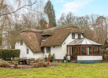 Thumbnail 4 bed detached house for sale in Winchester Road, Ampfield, Romsey, Hampshire