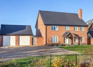 Thumbnail 4 bed detached house for sale in Norwich Road, Brooke, Norwich