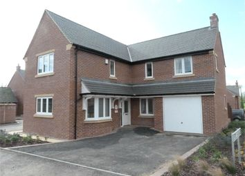Thumbnail 4 bed detached house for sale in Maxwell Way, Lutterworth