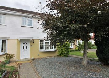 Thumbnail 3 bed terraced house for sale in Nicholas Close, Christchurch