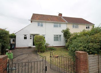 Thumbnail 3 bed semi-detached house for sale in Hardwick Road, Pill, North Somerset