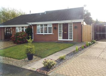 Thumbnail 2 bed bungalow for sale in Pebblemill Close, Cannock