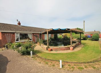 Thumbnail 4 bed detached bungalow for sale in Carl Crescent, Trunch, North Walsham