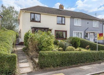 Thumbnail 4 bed semi-detached house for sale in Barn Crescent, Newbury