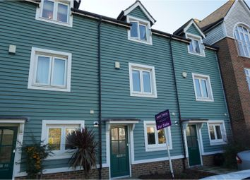 Thumbnail 3 bed terraced house for sale in The Lakes, Aylesford