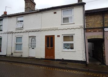 Thumbnail 3 bedroom terraced house to rent in Sayer Street, Huntingdon