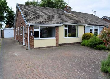 Thumbnail 3 bed semi-detached bungalow to rent in The Ruddings, Selby