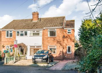 Thumbnail 3 bed semi-detached house for sale in Fornham Road, Bury St. Edmunds