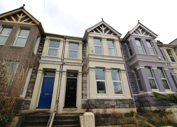 Thumbnail 2 bed flat to rent in Bernice Terrace, Plymouth