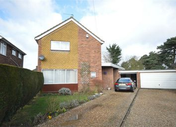 Thumbnail 3 bed detached house for sale in Brandon Close, Hellesdon, Norwich
