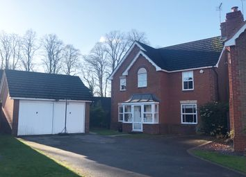 Thumbnail 4 bed detached house for sale in Hornbeam Close, Oadby, Leicester