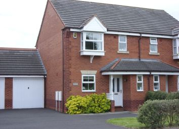 Thumbnail 3 bed semi-detached house to rent in Brownhills Road, Norton Canes